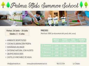 Curso de verano 2017 Palma Kids Montessori