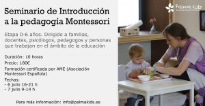 Introducción a Montessori en Valencia